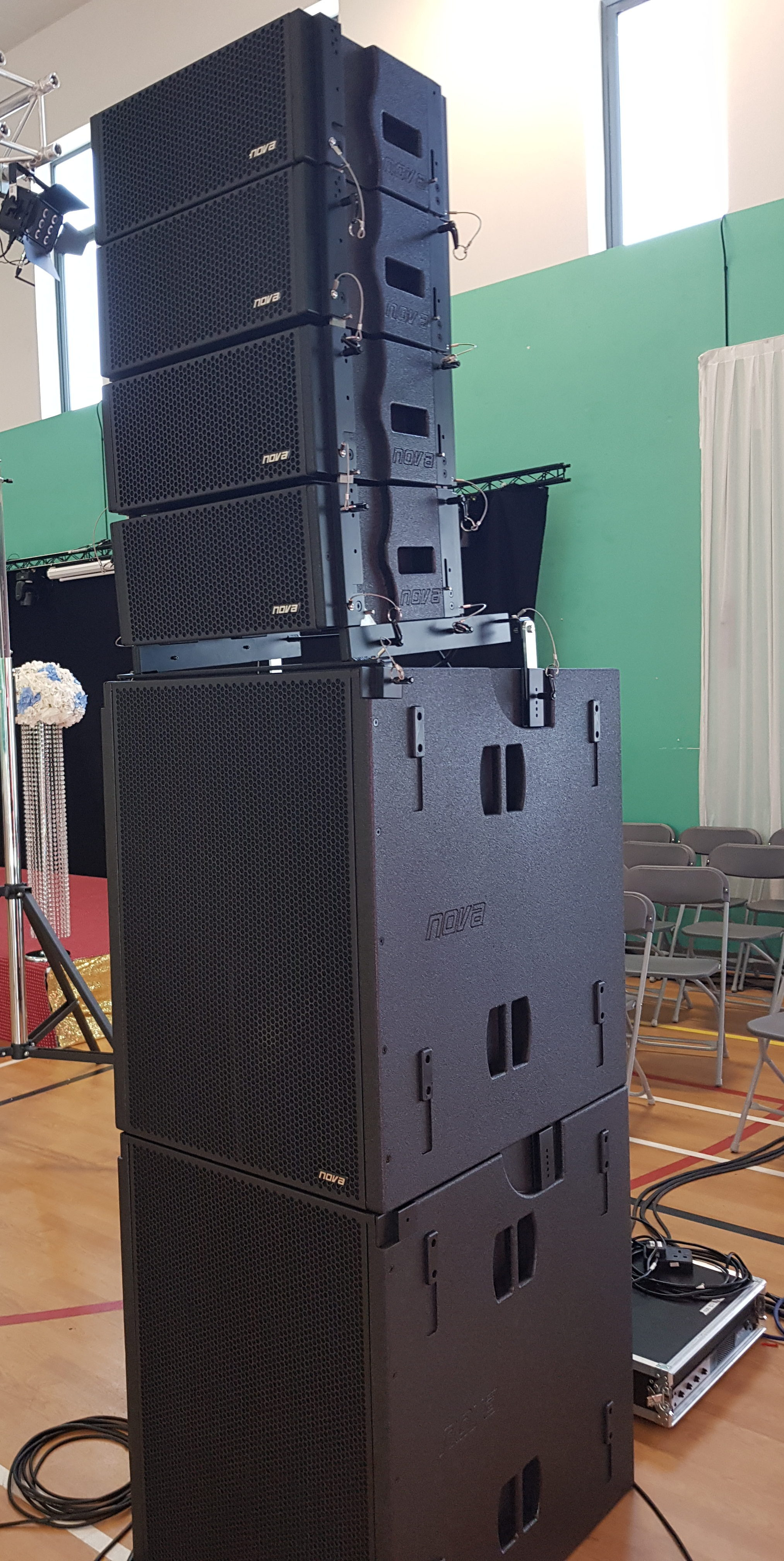 Nova Acoustic Elite Line Array Package